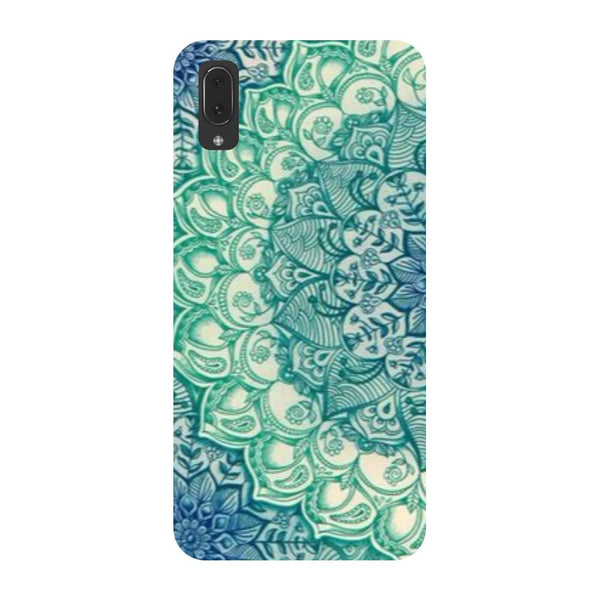 Blue Mandala Vivo V11 Pro Back Cover