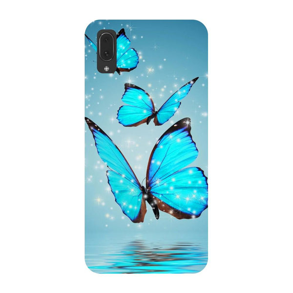 Blue Butterflies Vivo V11 Pro Back Cover-Hamee India