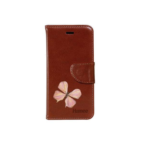 Hamee - Pastel Butterfly - PU Leather Flip Cover for Samsung Galaxy Note 9