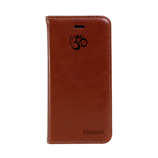 Hamee - Om - Premium PU Leather Flip Diary Card Pocket Case Cover Stand for Mi Mix 2