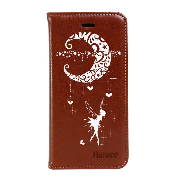 Hamee - Moon Fairy - Premium PU Leather Flip Diary Card Pocket Case Cover Stand for Mi Mix 2