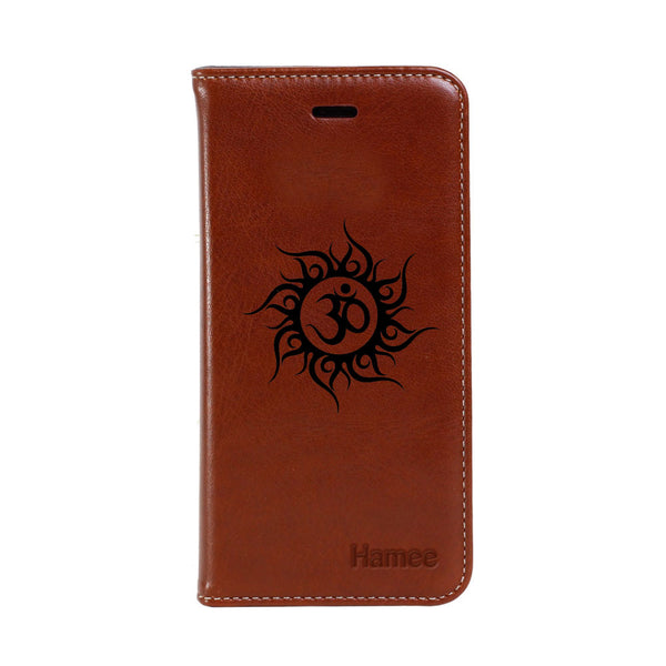 Hamee - Little Om Star - Premium PU Leather Flip Diary Card Pocket Case Cover Stand for Mi Mix 2