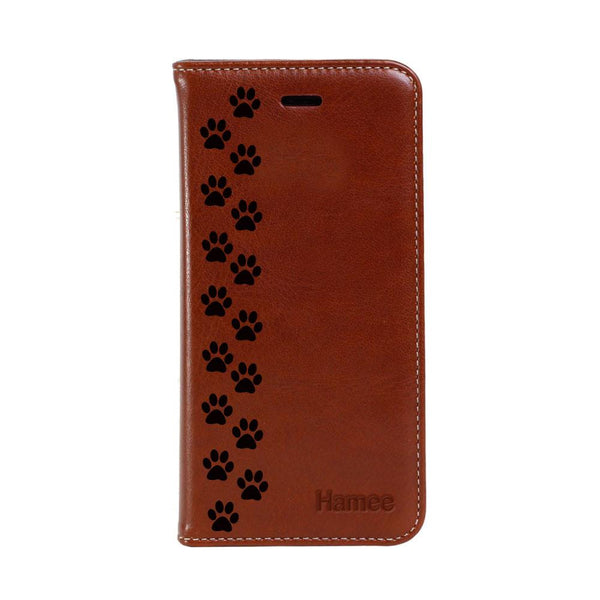 Hamee - Paws - PU Leather Flip Cover for Samsung Galaxy Note 9
