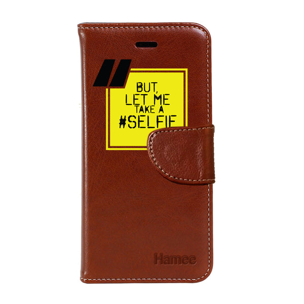 Hamee - Selfie - Premium PU Leather Flip Diary Card Pocket Case Cover Stand for Mi Mix 2