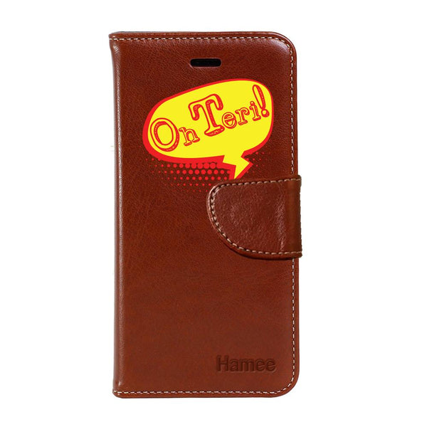 Hamee - Oh Teri - PU Leather Flip Cover for Samsung Galaxy Note 9