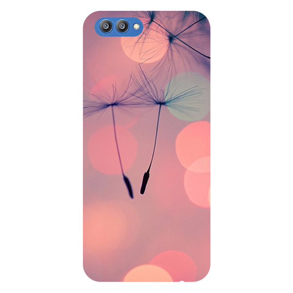 Floating buds - Printed Hard Back Case Cover for Honor V10-Hamee India