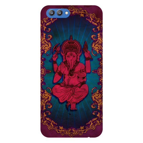 Ganesh Bessings - Printed Hard Back Case Cover for Honor V10-Hamee India