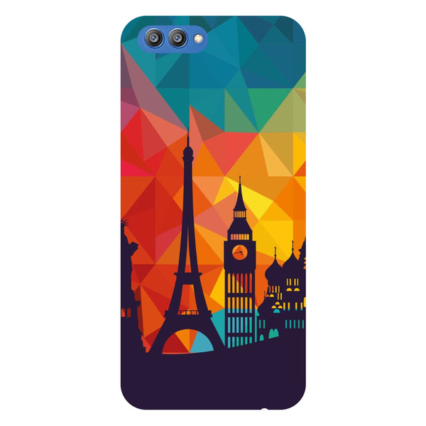 City Life - Printed Hard Back Case Cover for Honor V10-Hamee India