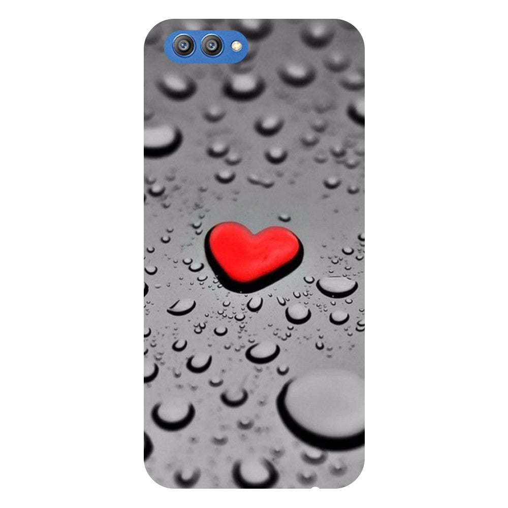 Hearts - Printed Hard Back Case Cover for Honor V10-Hamee India