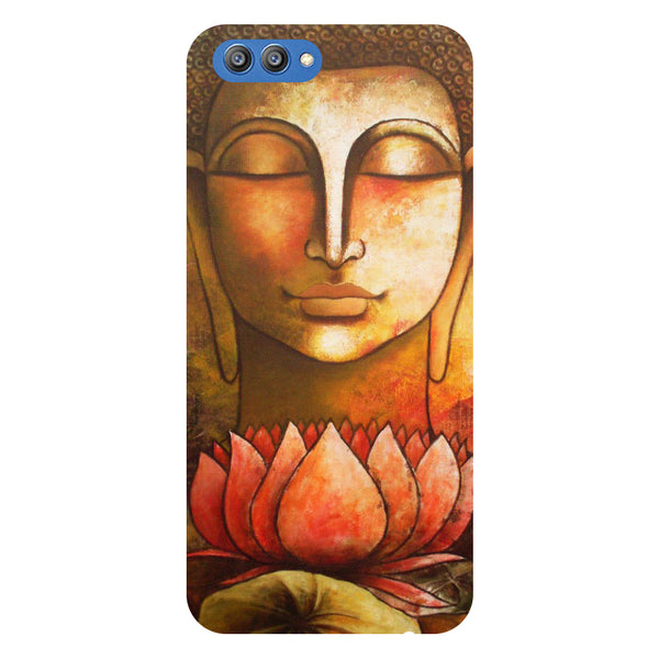 Buddha Lotus - Printed Hard Back Case Cover for Honor V10-Hamee India