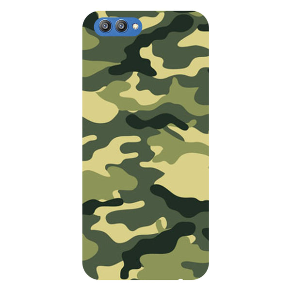 Camouflage - Printed Hard Back Case Cover for Honor V10-Hamee India