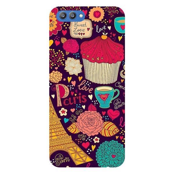 Buns & Muffins - Printed Hard Back Case Cover for Honor V10-Hamee India