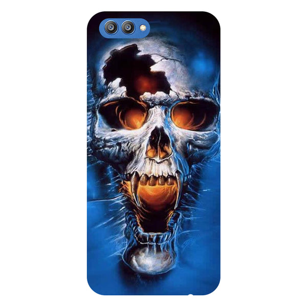 Skull 2- Printed Hard Back Case Cover for Honor V10-Hamee India