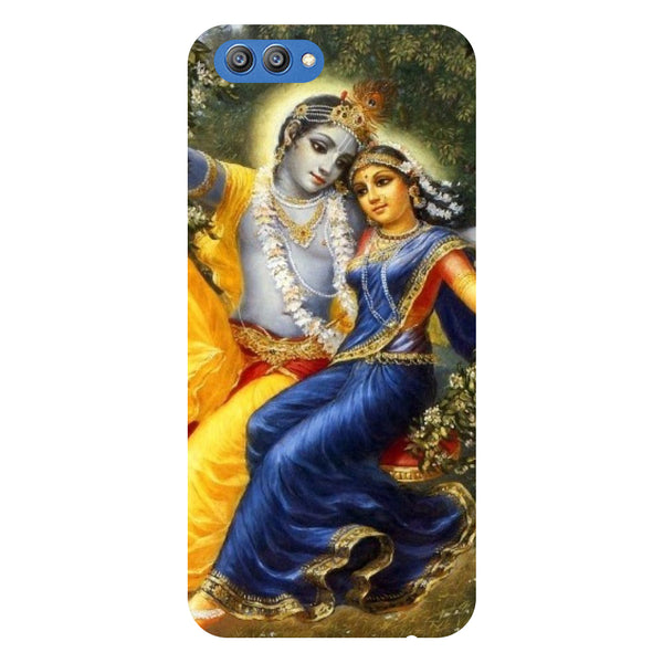 Radha Krishna 2- Printed Hard Back Case Cover for Honor V10-Hamee India