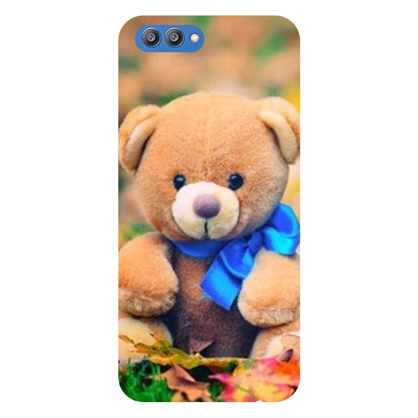 Teddy - Printed Hard Back Case Cover for Honor V10-Hamee India