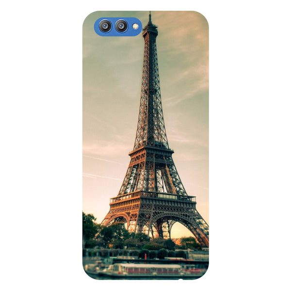 Paris - Printed Hard Back Case Cover for Honor V10-Hamee India