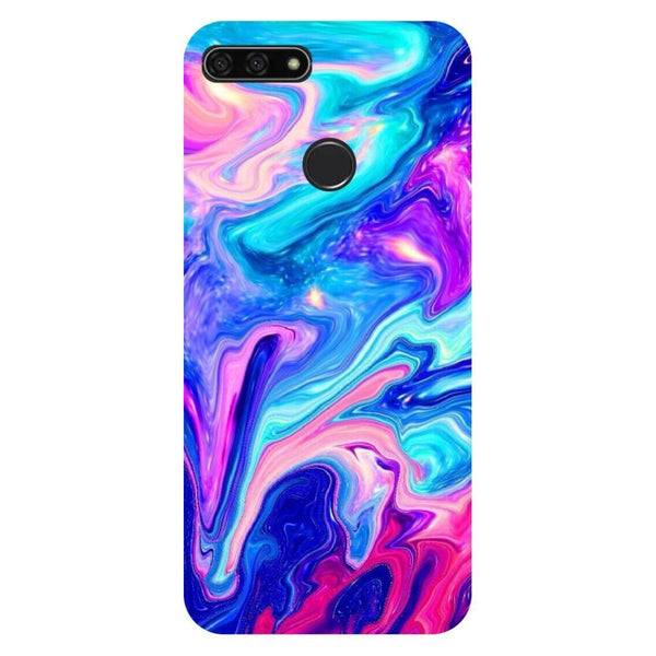 watch 1eeb5 39a59 Abstract Paint Honor 9N Back Cover
