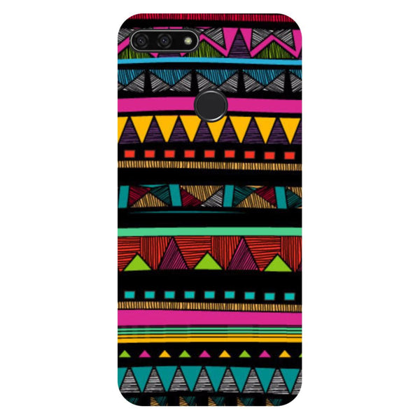 Tribal- Printed Hard Back Case Cover for Honor 7C