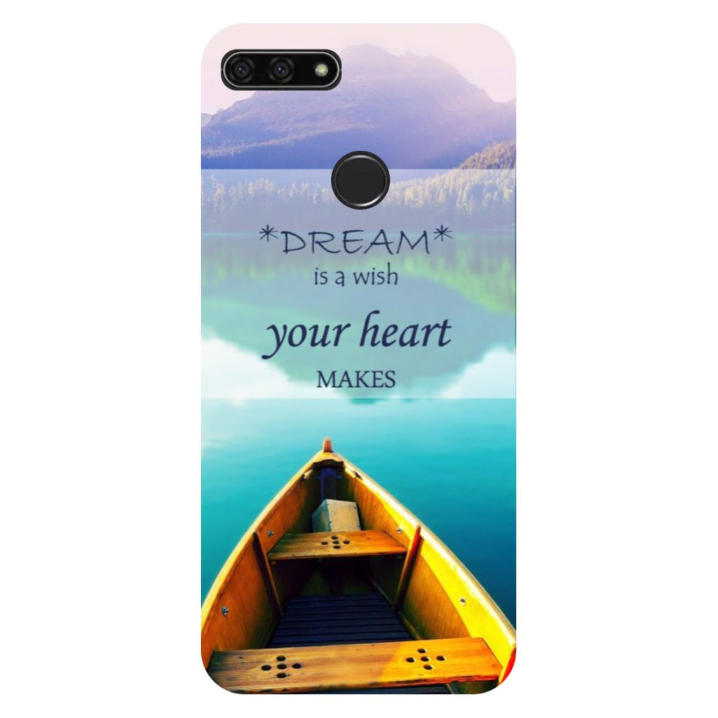 Boat Honor 7C Back Cover-Hamee India
