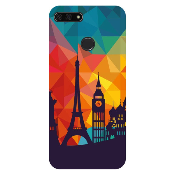 Seven Wonders Honor 7C Back Cover-Hamee India