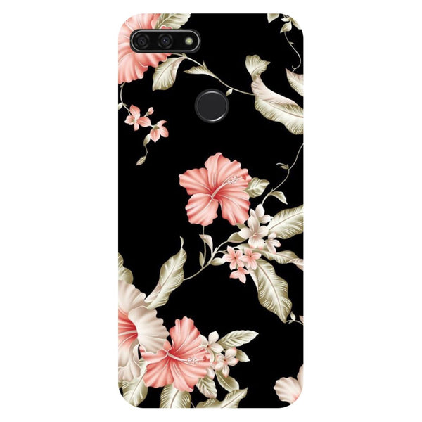 Flowers Honor 7C Back Cover-Hamee India