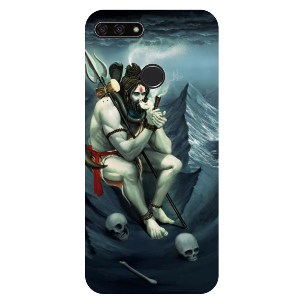 Aghori Honor 7C Back Cover-Hamee India