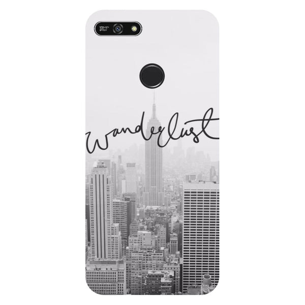 Wanderlust- Printed Hard Back Case Cover for Honor 7A