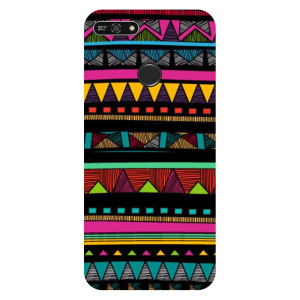 Tribal- Printed Hard Back Case Cover for Honor 7A