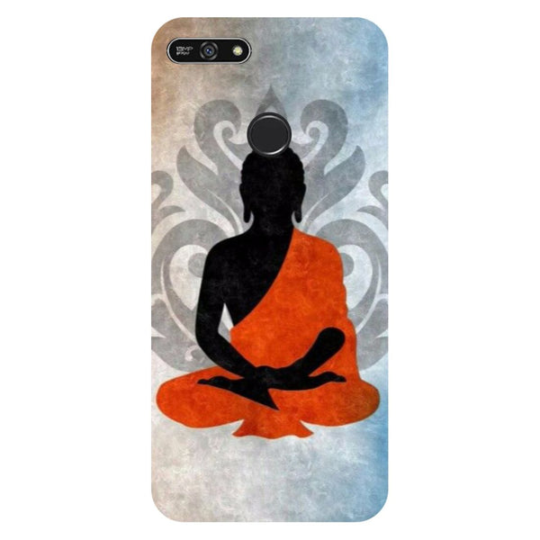 Yoga- Printed Hard Back Case Cover for Honor 7A