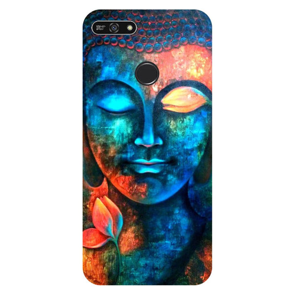 Buddha- Printed Hard Back Case Cover for Honor 7A