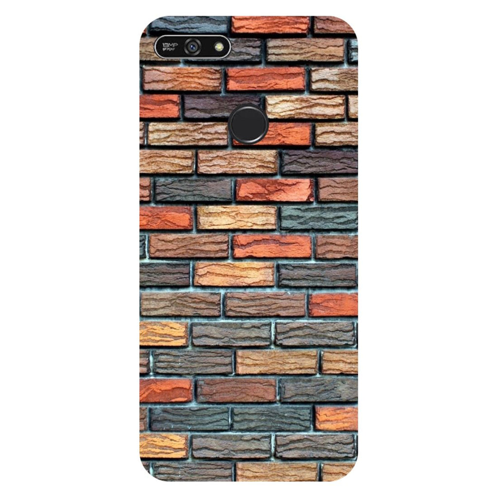 Brick Wall Honor 7A Back Cover-Hamee India