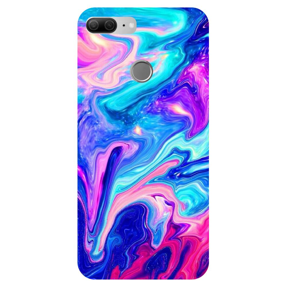 Abstract - Printed Hard Back Case Cover for Oppo R15-Hamee India