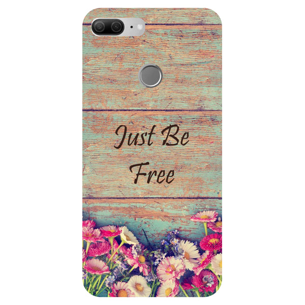 Just be Free - Printed Hard Back Case Cover for Honor 9 Lite