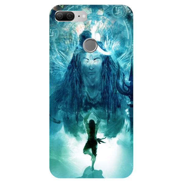 Blue Mahadev - Printed Hard Back Case Cover for Honor 9 Lite