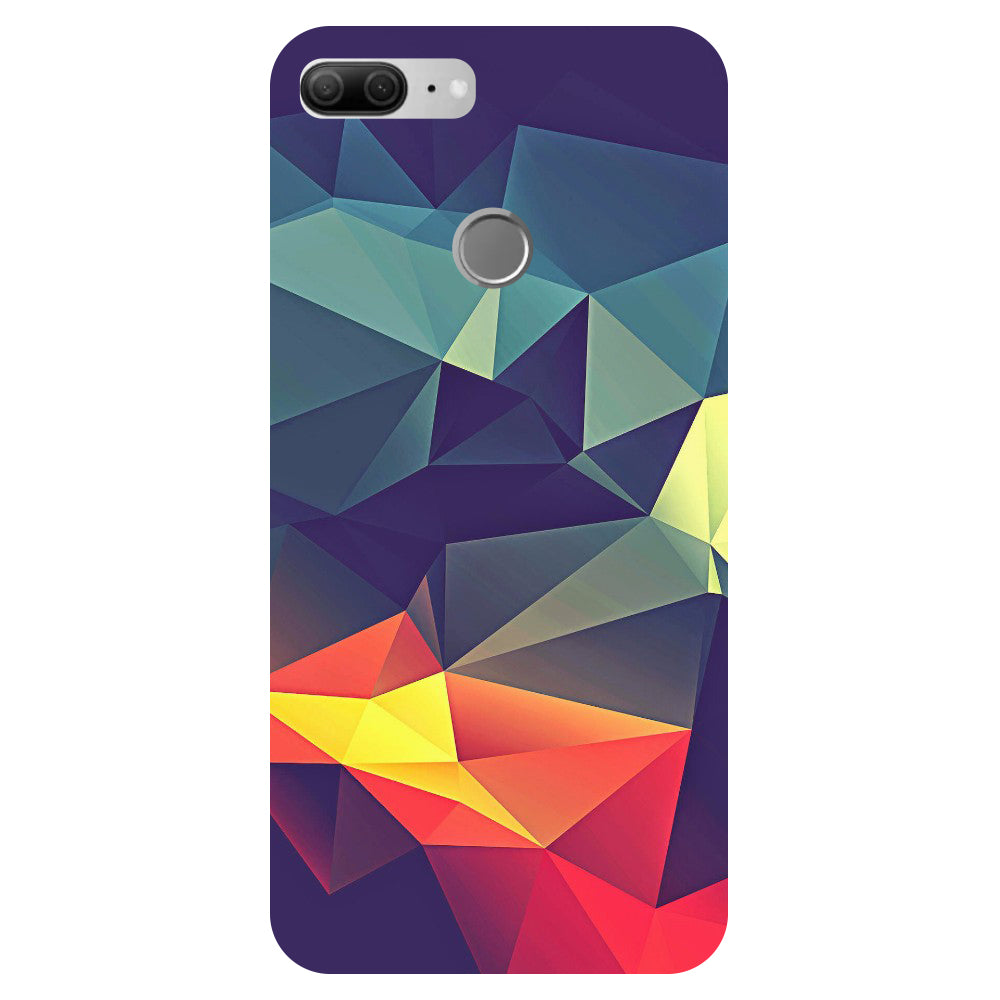 Abstract Pattern - Printed Hard Back Case Cover for Oppo R15-Hamee India