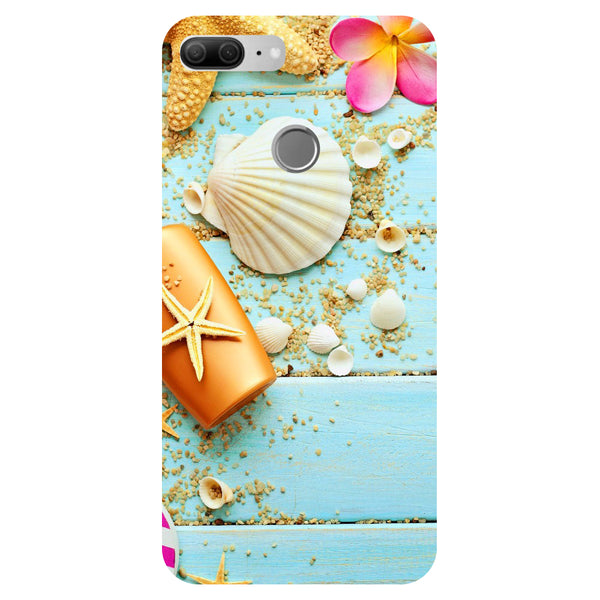 Shells - Printed Hard Back Case Cover for Honor 9 Lite
