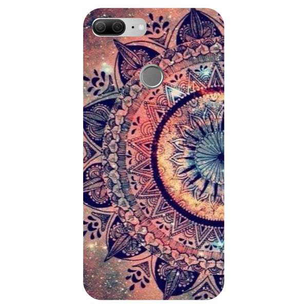 Mandala - Printed Hard Back Case Cover for Honor 9 Lite