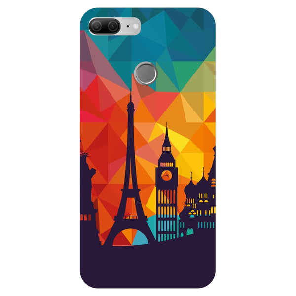City Life - Printed Hard Back Case Cover for Honor 9 Lite
