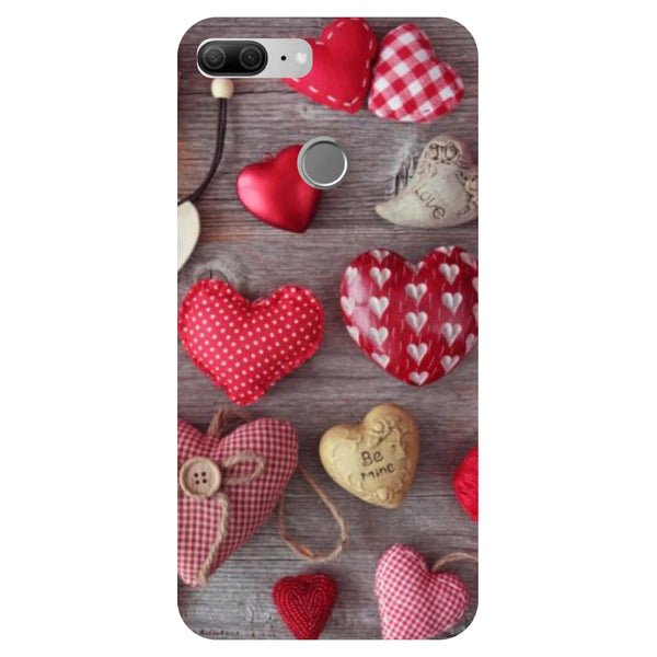 Hearts & Love - Printed Hard Back Case Cover for Honor 9 Lite