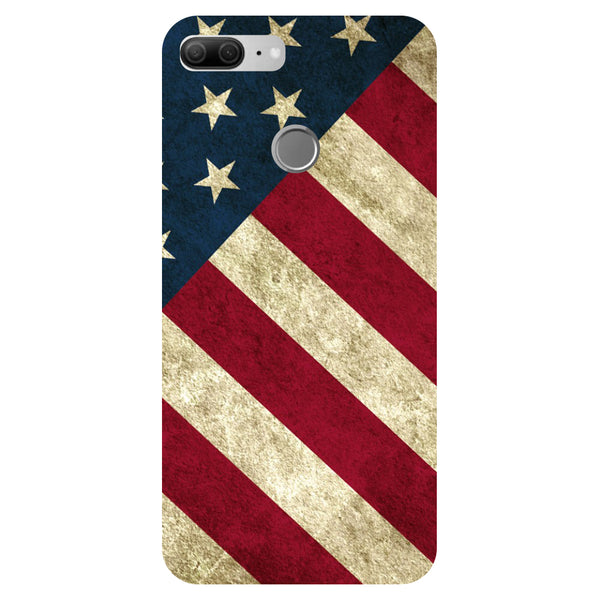 US Flag - Printed Hard Back Case Cover for Honor 9 Lite