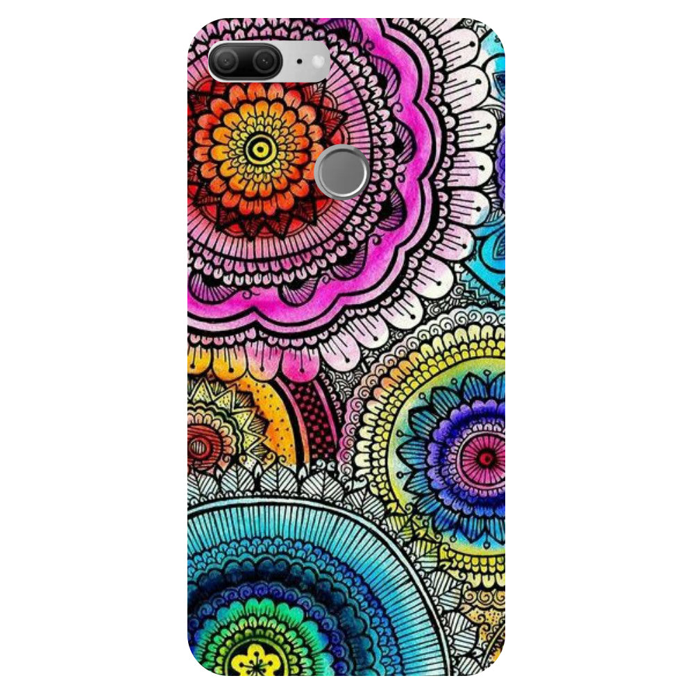 Beautiful Mandala - Printed Hard Back Case Cover for Oppo R15