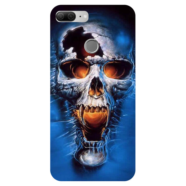 Skull 2- Printed Hard Back Case Cover for Honor 9 Lite