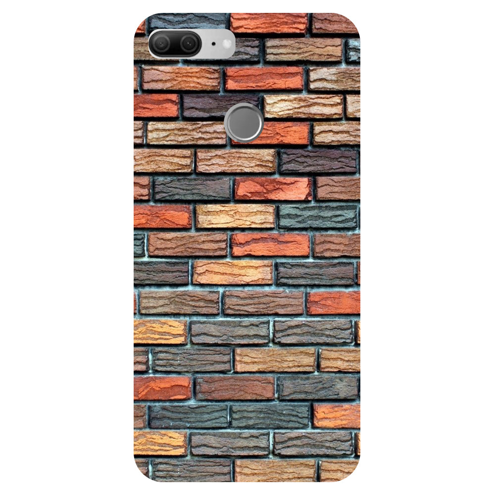 Bricks - Printed Hard Back Case Cover for Oppo R15-Hamee India