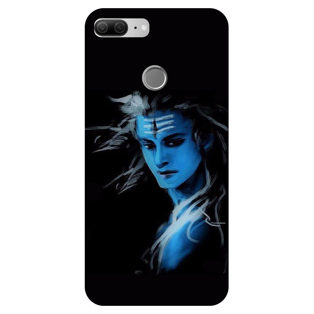 Blue Mahadev 2- Printed Hard Back Case Cover for Oppo R15-Hamee India