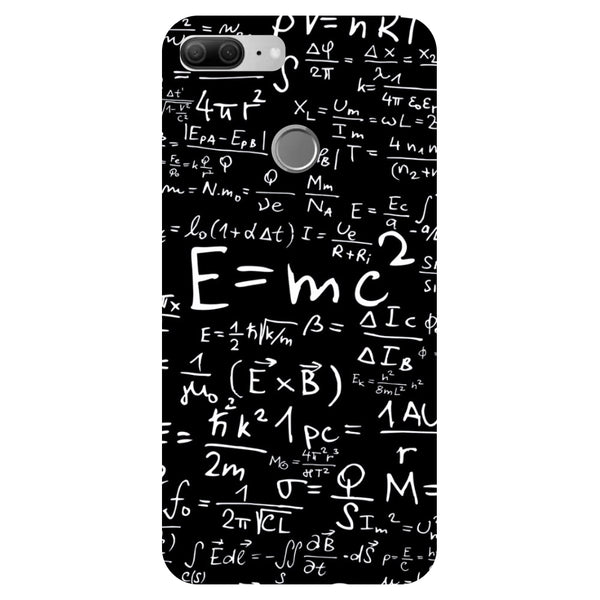 E=MC2 - Printed Hard Back Case Cover for Honor 9 Lite