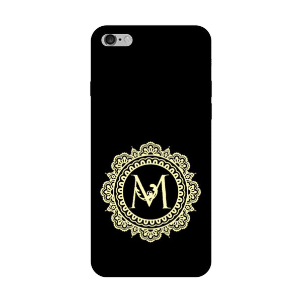 Hamee - Alphabet 'M' - Designer Printed Hard Back Case Cover for Vivo V5 Plus-Hamee India