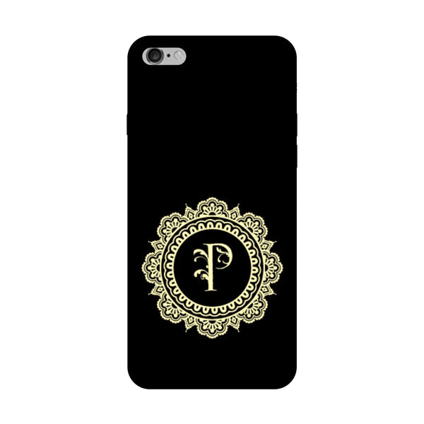 Hamee - Alphabet 'P' - Designer Printed Hard Back Case Cover for Vivo V5 Plus-Hamee India