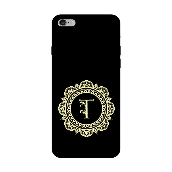 Hamee - Alphabet 'T' - Designer Printed Hard Back Case Cover for Vivo V5 Plus-Hamee India