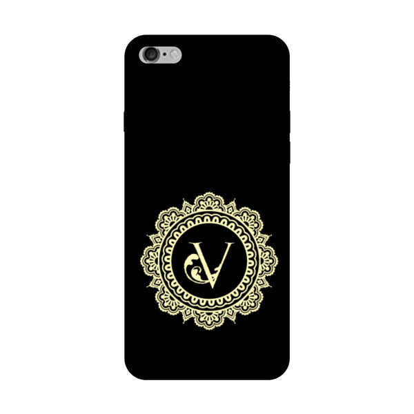 Hamee - Alphabet 'V' - Designer Printed Hard Back Case Cover for Vivo V5 Plus-Hamee India