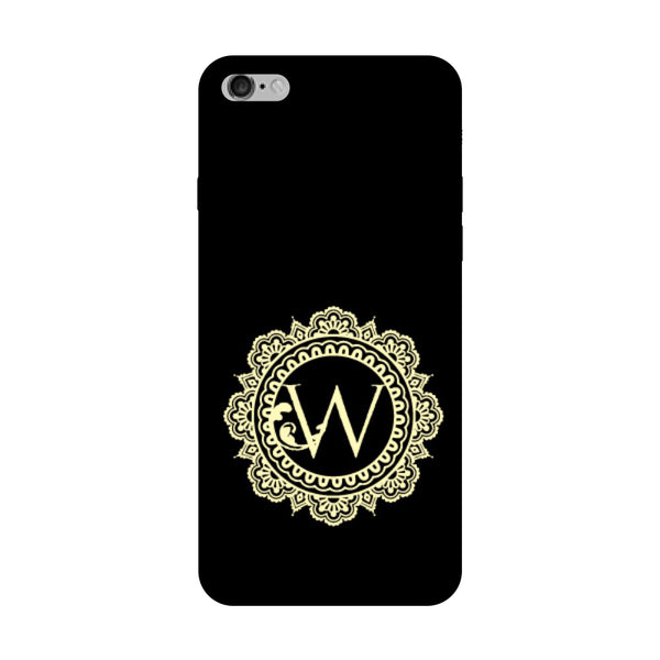 Hamee - Alphabet 'W' - Designer Printed Hard Back Case Cover for Vivo V5 Plus-Hamee India